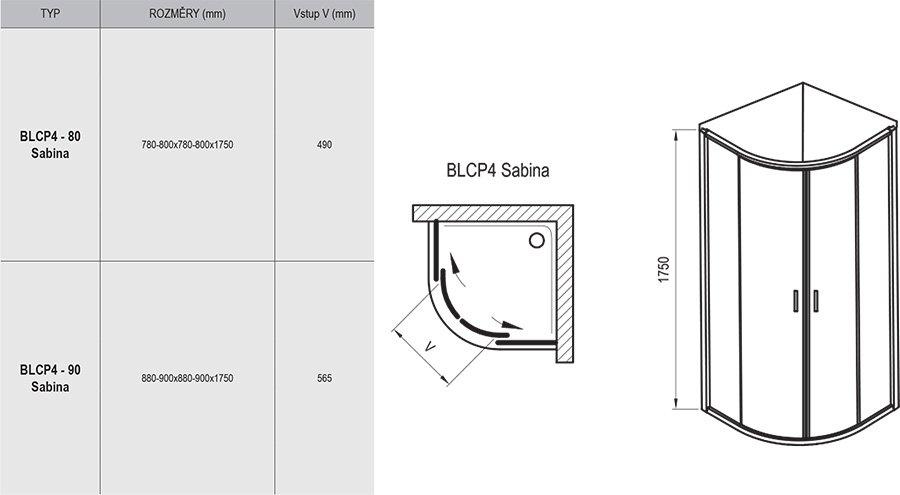 BLCP4 SABINA