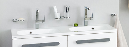 Koupelnové doplňky Chrome