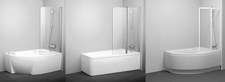 К асимметричным ваннам