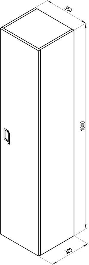 Высокий шкаф SB Comfort 350