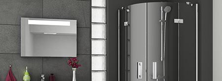 Душевые уголки и двери SmartLine